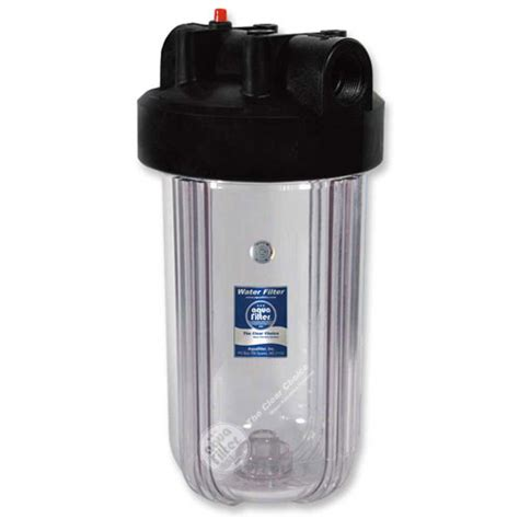 Haousing Clear Blue whole house filters for cold water prote