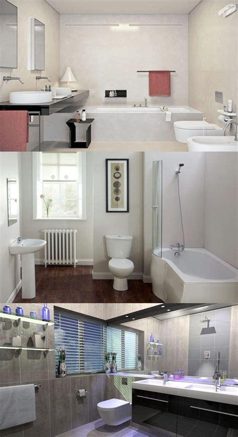 brilliant big ideas small bathrooms