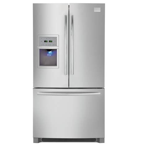 door counter depth stainless steel refrigerator frigidaire fphf2399mf 22 6 cu ft counter depth