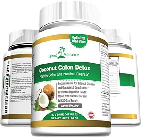 Detox Supplement Malaysia by Coconut Colon Detox Supplement Formula For Cleanse