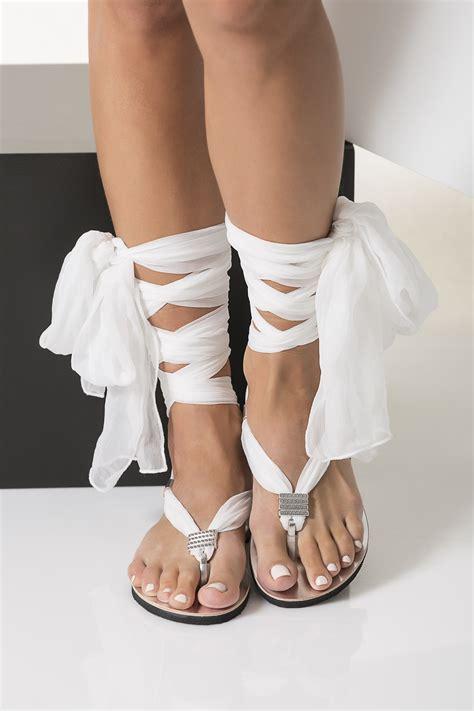 white bridal sandals white bridal sandals greekchichandmades