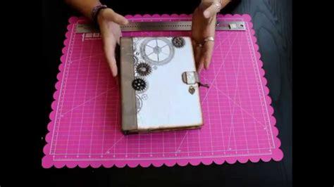 scrapbooking tutorial fotofolio taller online como hacer un album de scrapbooking paso a