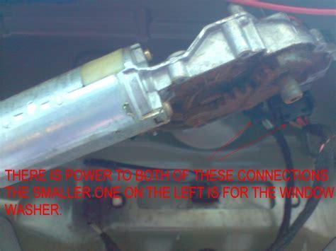 wiper motor wiring schematic mercedes forum ford