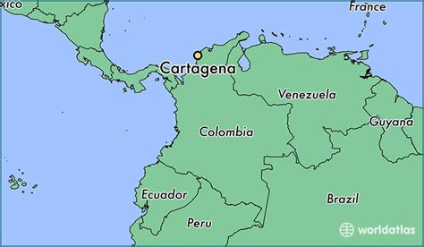 colombia on the world map where is cartagena colombia cartagena bolivar map