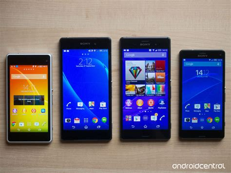 Sony Xperia Z2 Compact in pictures sony xperia z3 z3 compact versus z2 z1