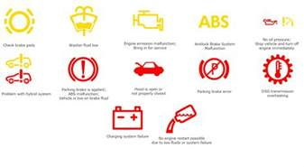 Vw Golf Brake System Warning Light Where Can I Find A List Of Vw Warning Lights