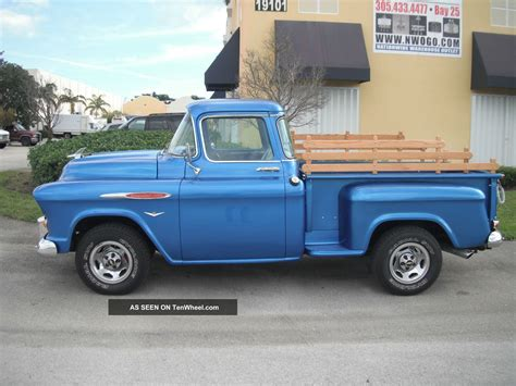 1958 Chevrolet Truck by 1958 Chevy 3100 Custom Truck