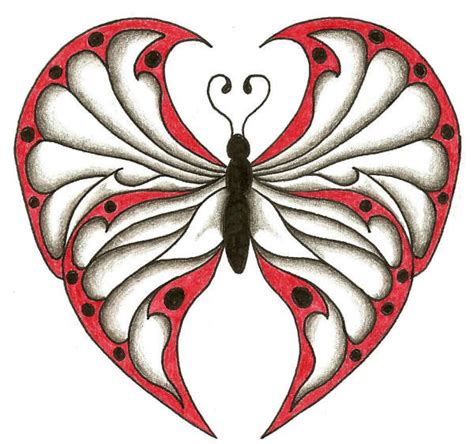 tattoo butterfly with heart butterfly hearts pictures to pin on pinterest tattooskid