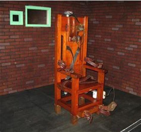 pena di morte sedia elettrica pena di morte usa sedia elettrica e fucilazione contro