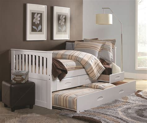 captain trundle bed cambridge white captains trundle bed twin size bed
