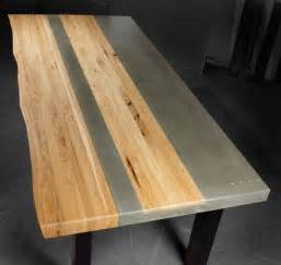 Concrete Kitchen Tables Made Concrete Wood Steel Dining Kitchen Table By Tao Concrete Custommade