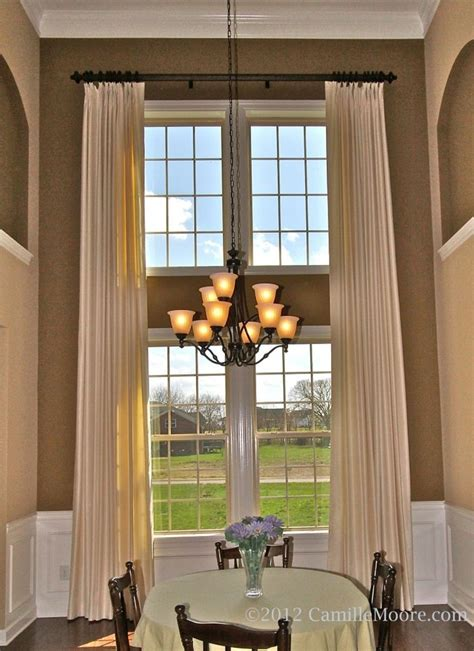 curtains for family room 243 best 2 story window treatments images on pinterest