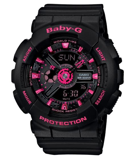Casio Baby G Original Second casio baby g ba 111 1adr original jualbeli