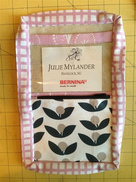 Stitch Name Tag Holder M102 quilty sewing tutorial