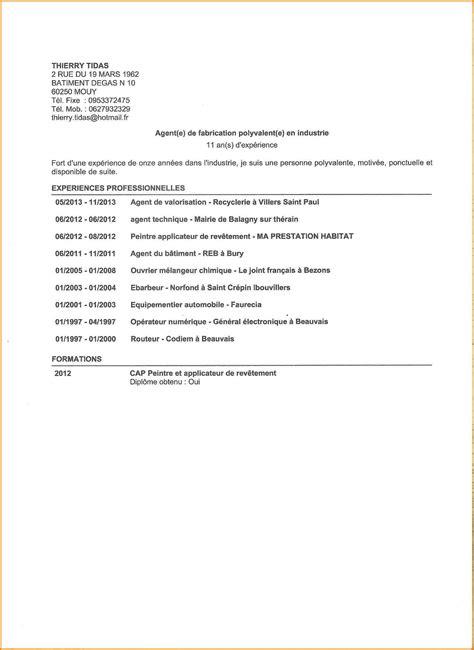 Lettre De Motivation Entreprise De Nettoyage 8 cv de nettoyage modele lettre