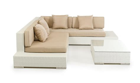 outdoor sectional sofas corona modern patio white sectional sofa set outdoor