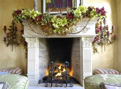 elegant fireplace christmas decorating ideas standout fireplaces colonial to classical