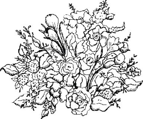 garden flowers 1 coloring pages
