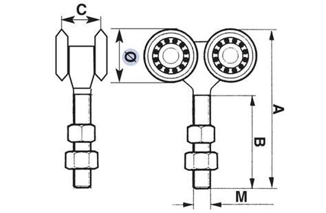carrelli porte scorrevoli carrelli per portoni scorrevoli varie misure windowo