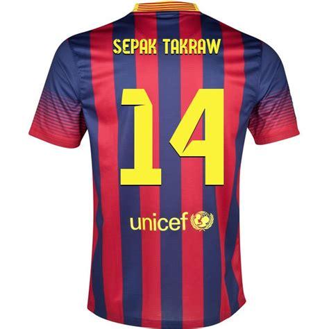 design t shirt bola sepak design your own fc barcelona soccer jersey sepak takraw 14