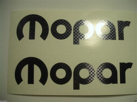 custom vinyl lettering mopar dodge performance logo vinyl sticker decal 2 7 1176