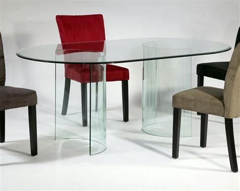 oval glass dining room table oval glass dining room table createfullcircle com