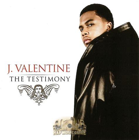 j valentin j the testimony cd r cd rap guide