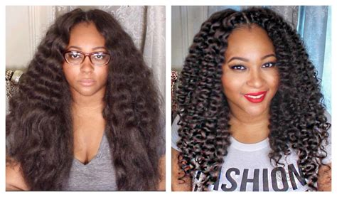Crochet Braids Kanekaalon Braid Pattern | curly crochet braids w kanekalon hair braid pattern