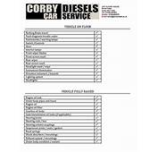 Corby Diesels  Service