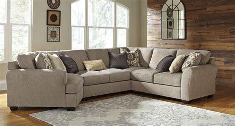 pantomine driftwood modular sectional  cuddler sectionals living room furniture living room