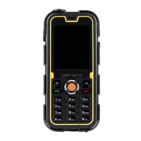 and rugged getnord walrus ultra rugged mobile cell phone waterproof shockproof and dust proof outdoor