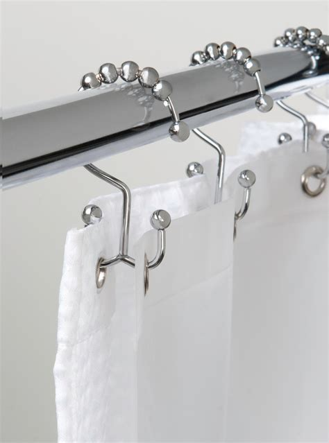 Rust Proof Shower Curtain Hooks by Bathroom Shower Hooks Shower Curtain Rings Rust Resistant