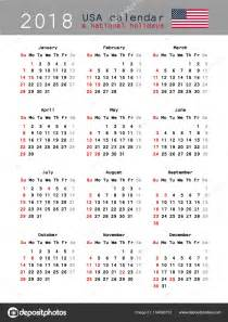Calendario Usa Calendario De Estados Unidos 2018 Archivo Im 225 Genes
