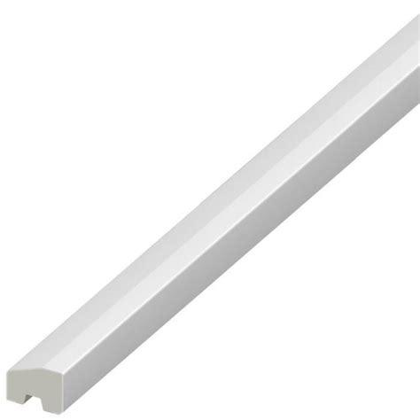 white pvc beading white window plastic upvc pvc trim bead 20mm x 15mm
