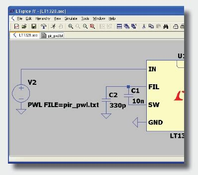 ltspice: importing & exporting pwl data | analog devices