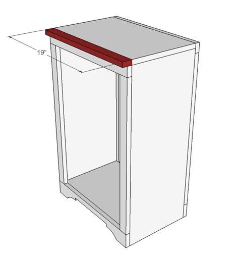 tilt out trash cabinet plans tilt out trash cabinet woodworking plans woodshop plans