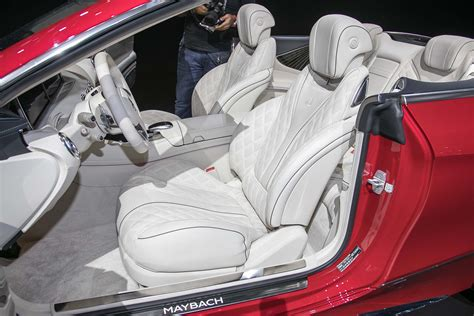maybach 6 interior the 100 000 club of the 2016 los angeles auto show