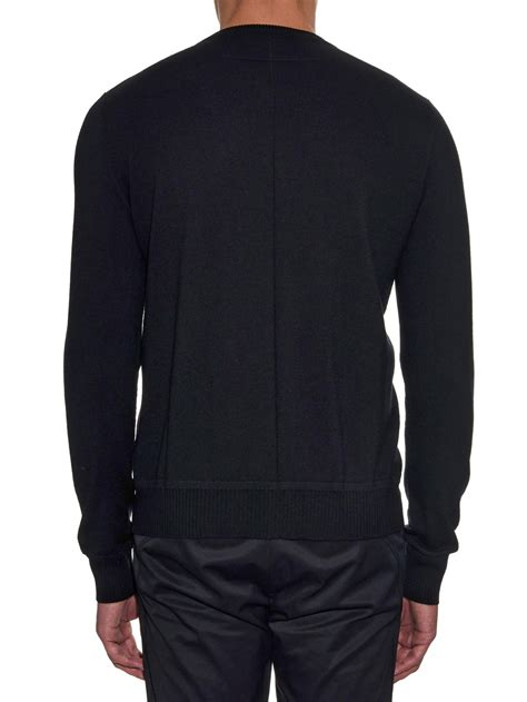 Givenchy Sweater givenchy rottweiler crew neck sweater in black for lyst