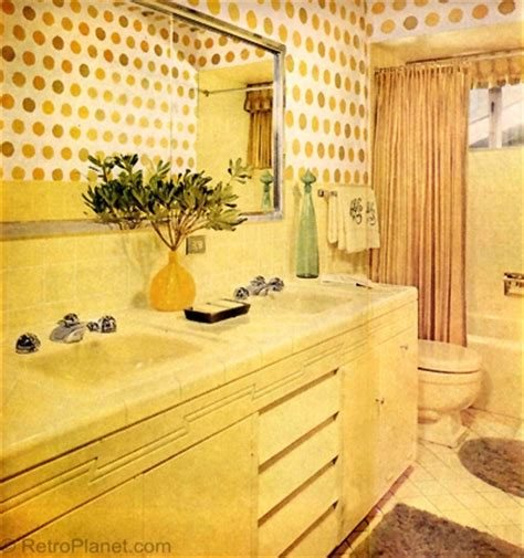 1960s bathroom design 1960s decorating style