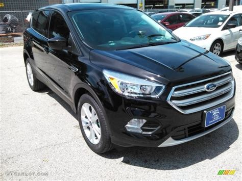 ford escape 2017 black 2017 shadow black ford escape se 112800789 gtcarlot com