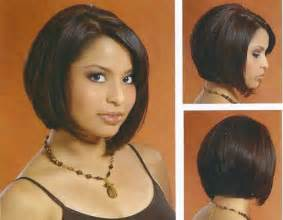 medium layered bob back view of bob haircut images