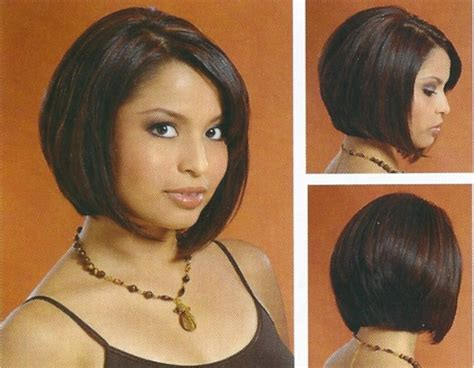 A Line Haircuts Front And Back Views | below chin a line bob front back side view new