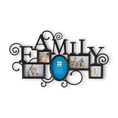 family collage photo frames essential home family collage wall frame
