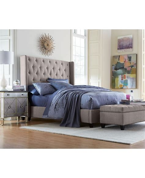 bedroom furniture macys rosalind upholstered bedroom furniture bedroom