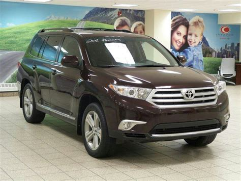 manual cars for sale 2012 toyota highlander free book repair manuals 2012 toyota highlander 4dr 4wd calgary alberta used car for sale 2177837