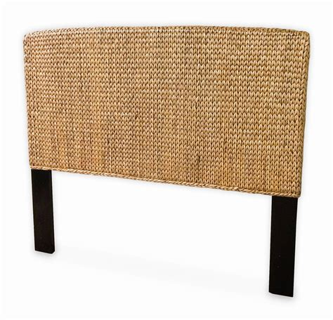 wicker headboard full seagrass full headboard miramar