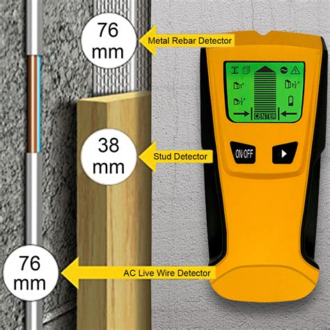 Pipi Finder 3 In 1 Stud Wood Metal Pipe Ac Live Wire Detector Stud Finder Voltage Sensor Usa Ebay