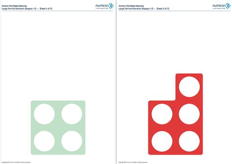 printable numbers eyfs here s a large set of printable numicon shapes numicon