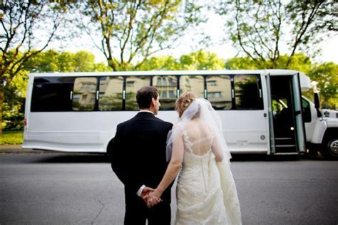 Wedding Party Bus Rental in Toronto, ON