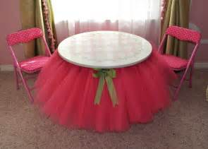Disposable Chair Covers Diy Tutu Table Gorgeous Decorating Idea For Your Little S Bedroom Diy Amp Crafts
